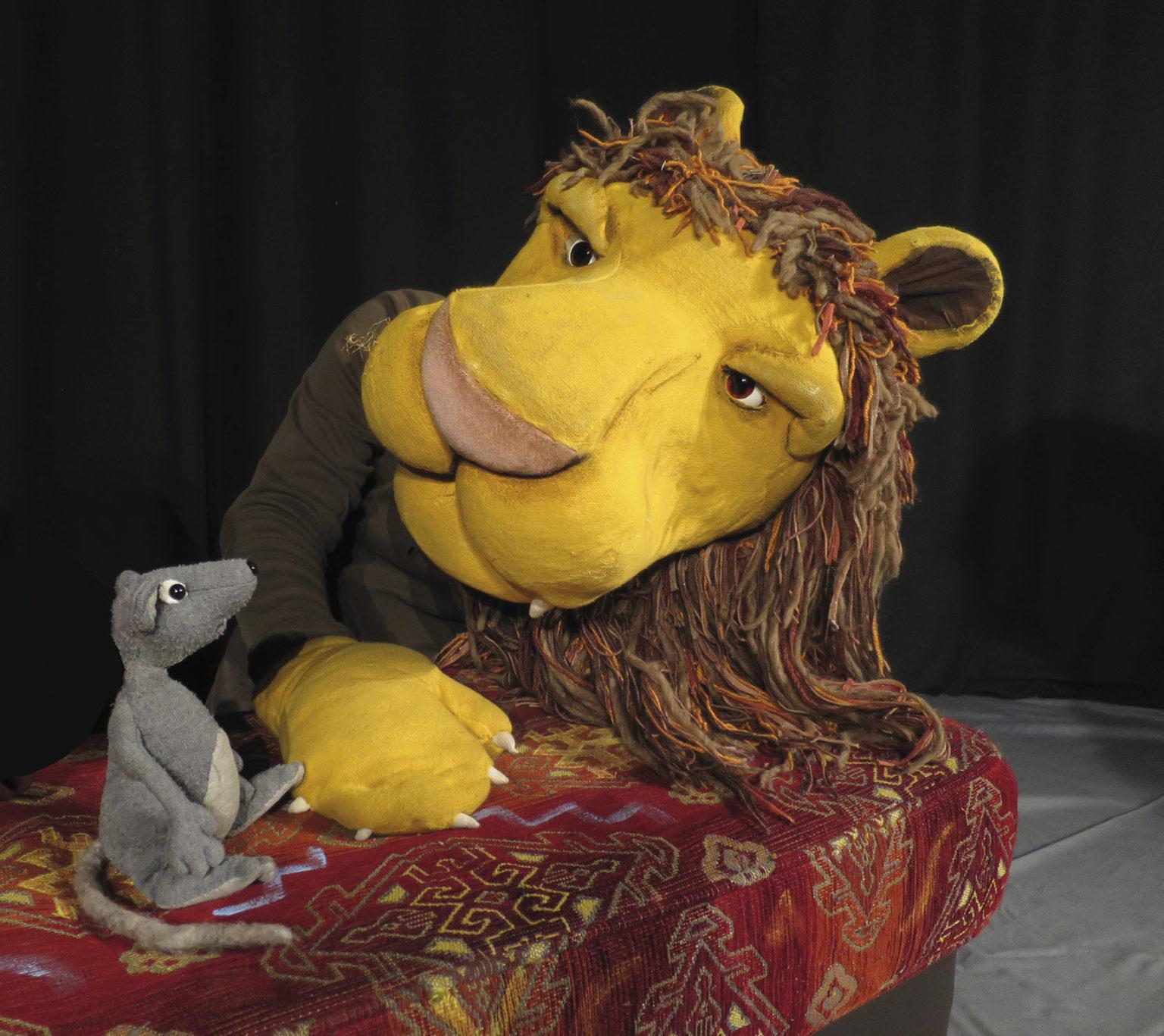 Szenenfoto: Der Löwe und die Maus